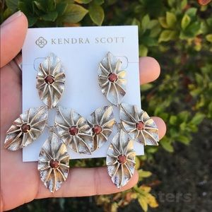 Kendra Scott Vintage Goldstone Earrings